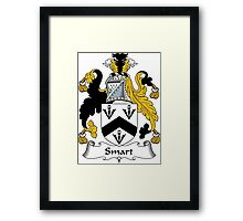 Smart Coat of Arms / Smart Family Crest Framed Print