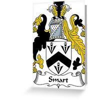 Smart Coat of Arms / Smart Family Crest Greeting Card