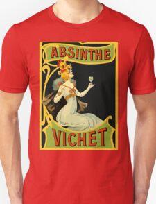 Absinthe Vichet, modern art nouveau T-Shirt