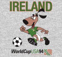 Striker the Irish World Cup Pup One Piece - Short Sleeve
