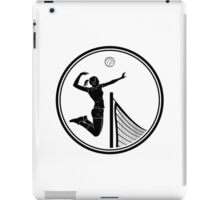 Womens Volleyball iPad Case/Skin