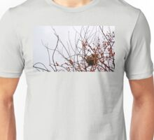 Nest in Red Berry Tree Unisex T-Shirt