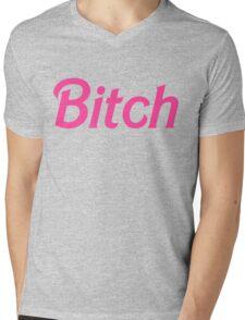 Bitch  Mens V-Neck T-Shirt