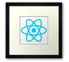 ReactJS Framed Print