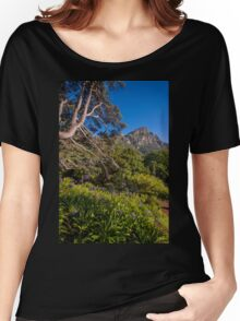 View from Kirstenbosch, South Africa Women's Relaxed Fit T-Shirt