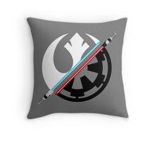 Star Wars - Rebel Alliance/Galactic Empire  Throw Pillow