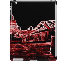 St Pauls Cathedral in red iPad Case/Skin