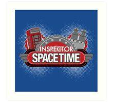 Inspector Spacetime Blorgon Edition Art Print