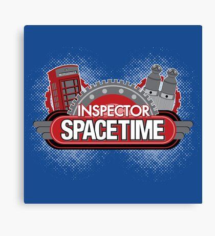 Inspector Spacetime Blorgon Edition Canvas Print