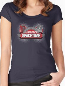 Inspector Spacetime Blorgon Edition Women's Fitted Scoop T-Shirt
