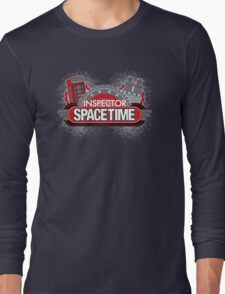 Inspector Spacetime Blorgon Edition Long Sleeve T-Shirt