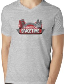 Inspector Spacetime Blorgon Edition Mens V-Neck T-Shirt