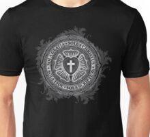 Luther Rose Christian Luther Seal Unisex T-Shirt