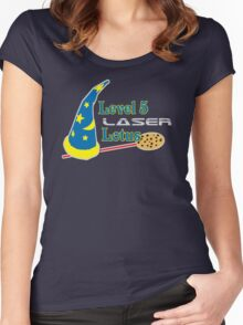 Level 5 Laser Lotus Women's Fitted Scoop T-Shirt