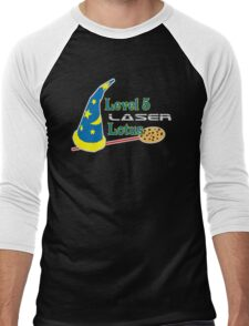 Level 5 Laser Lotus Men's Baseball ¾ T-Shirt