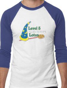 Level 5 Laser Lotus Men's Baseball ¾ T-Shirt