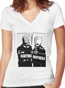 cantina band Women's Fitted V-Neck T-Shirt
