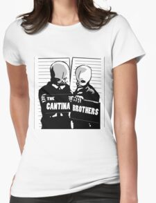 cantina band Womens Fitted T-Shirt