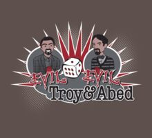 Evil Troy & Evil Abed by rexraygun