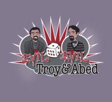 Evil Troy & Evil Abed Kids Tee