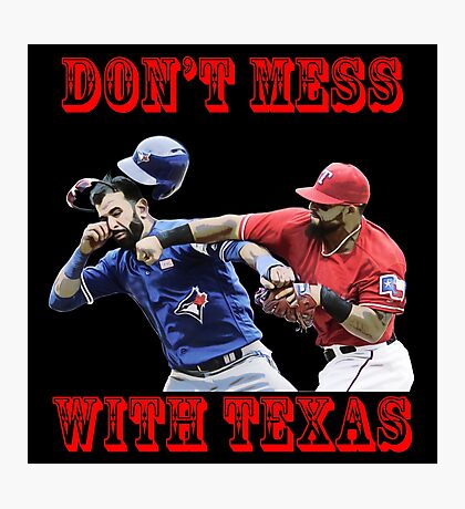 don't mess Photographic Print