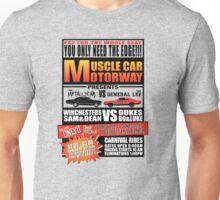 MuscleCar Motorway - Winchesters Vs Dukes Unisex T-Shirt