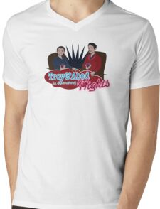Troy and Abed in the Morning... NIGHTS! Mens V-Neck T-Shirt
