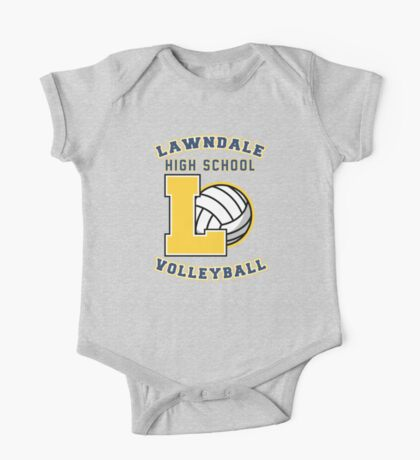 Lawndale HS Volleyball One Piece - Short Sleeve
