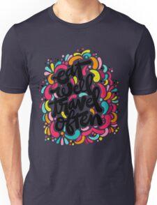 Eat & Travel Unisex T-Shirt