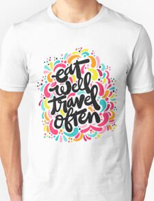 Eat & Travel Unisex T-Shirt