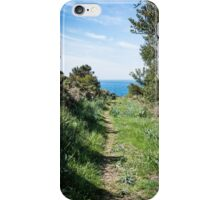 Footpath to the coast iPhone Case/Skin
