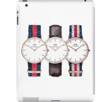 DW- Watch  iPad Case/Skin