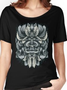 Filigree Leaves Forest Creature Beast Variant Women's Relaxed Fit T-Shirt