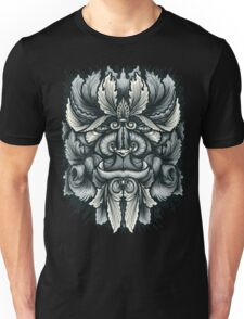Filigree Leaves Forest Creature Beast Variant Unisex T-Shirt