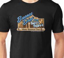 Inez & Pedro's Alamo Basement Tours Unisex T-Shirt