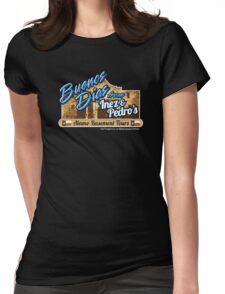 Inez & Pedro's Alamo Basement Tours Womens Fitted T-Shirt