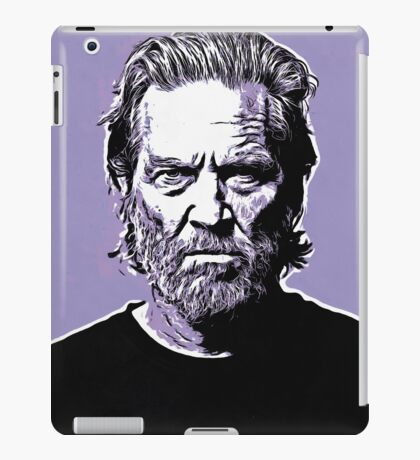 dude abide iPad Case/Skin