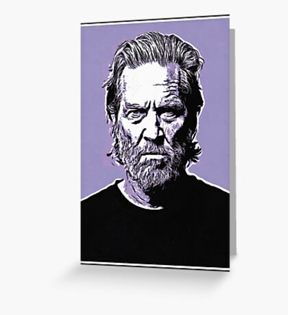 dude abide Greeting Card