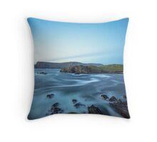 Glen Head, Glencolmcille Throw Pillow