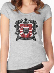 In Joss We Trust Women's Fitted Scoop T-Shirt
