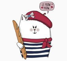 Michelle Le Meow Cat One Piece - Short Sleeve