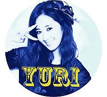 Girls' Generation Yuri Love & Peace  Photographic Print