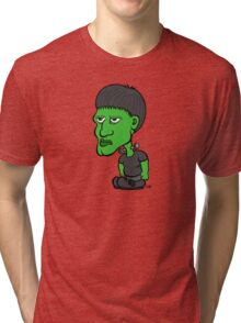 Frankenstein as a Kid Tri-blend T-Shirt