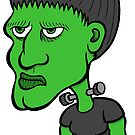 Frankenstein as a Kid by Brett Gilbert