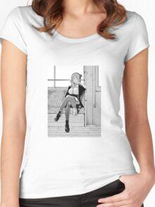 Hotaru Women's Fitted Scoop T-Shirt