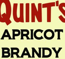 Quint's Apricot Brandy Sticker
