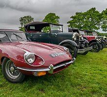 Jaguar E-Type 4.2 by Adrian Evans