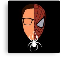 Spider-man/Peter Parker  Canvas Print