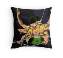 Zore Devil Spirits Throw Pillow
