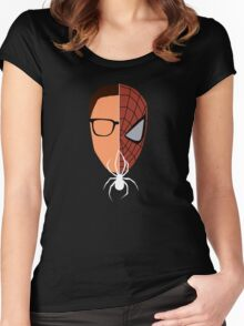 Spider-man/Peter Parker  Women's Fitted Scoop T-Shirt
